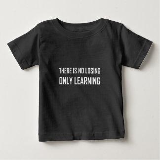 T-shirt Pour Bébé Seulement devise de étude pas perdante