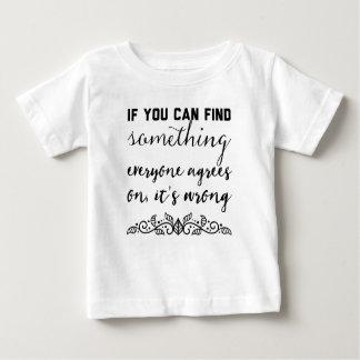 T-shirt Pour Bébé Si vous pouvez trouver quelque chose chacun