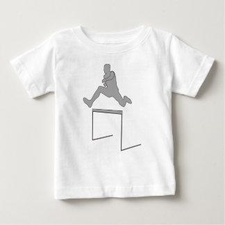 T-shirt Pour Bébé Silhouette de course d'obstacles
