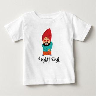 T-shirt Pour Bébé Singh vilain