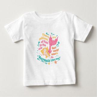 T-shirt Pour Bébé Sirène