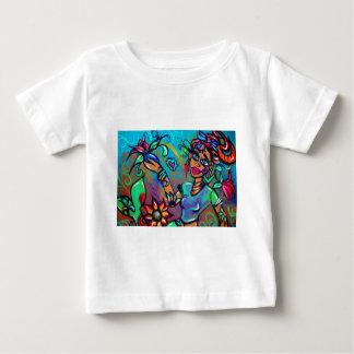 T-shirt Pour Bébé Sirène de Brown