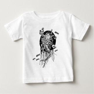 T-shirt Pour Bébé Sirène de Halloween