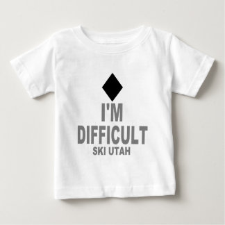 T-shirt Pour Bébé Ski difficile Utah