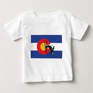 T-shirt Pour Bébé Ski le Colorado