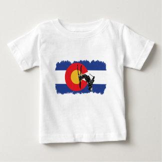 T-shirt Pour Bébé Ski le Colorado ! Version affligée