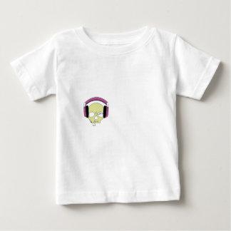 T-shirt Pour Bébé Skull music