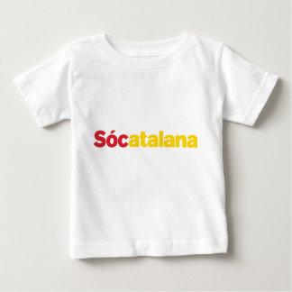T-shirt Pour Bébé Sócatalana Babe