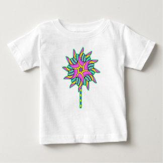 T-shirt Pour Bébé Soleil rose -