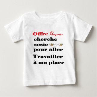 T-shirt Pour Bébé SOSIE TRAVAIL HOMME.png