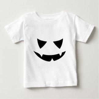 T-shirt Pour Bébé Sourire Jack O'Lantern de Fangy