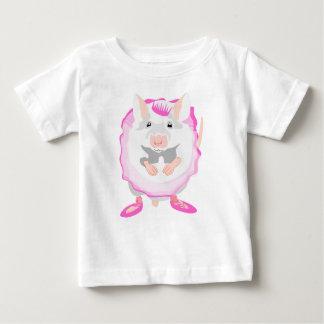 T-shirt Pour Bébé souris de ballerine