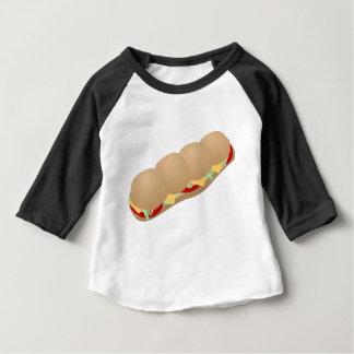 T-shirt Pour Bébé Sous sandwich