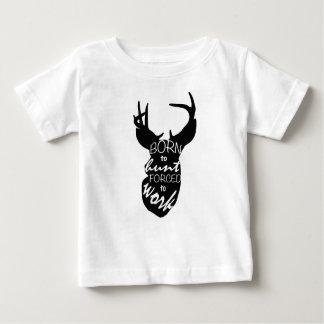T-shirt Pour Bébé Soutenu pour chasser
