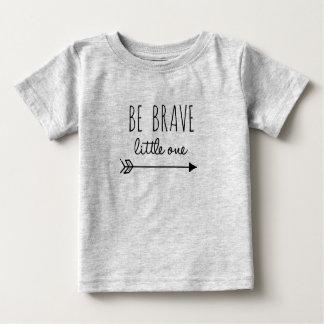 T-shirt Pour Bébé Soyez petite une pièce en t courageuse