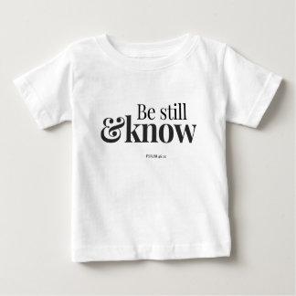 T-shirt Pour Bébé Soyez toujours et sachez