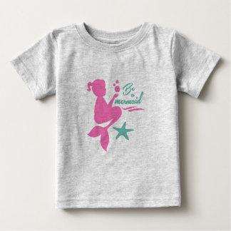 T-shirt Pour Bébé Soyez une sirène