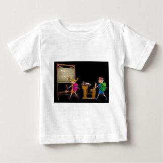 T-shirt Pour Bébé stupéfaction d'école