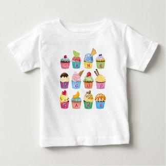 T-shirt Pour Bébé Sucreries cuites au four par bonbon délicieux de