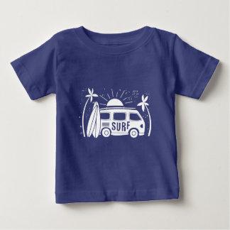 T-shirt Pour Bébé Surf vintage