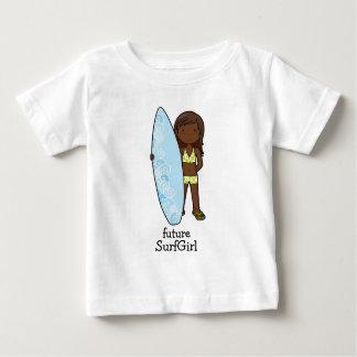 T-shirt Pour Bébé SurfGirl