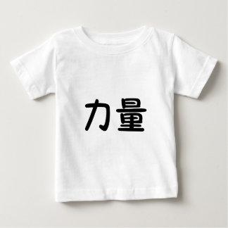 T-shirt Pour Bébé Symbole chinois pour la force
