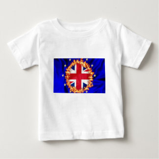 T-shirt Pour Bébé Symbole d'Anti-UE Brexit