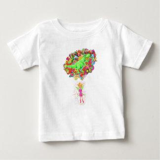 T-shirt Pour Bébé T-Rex féerique et magique