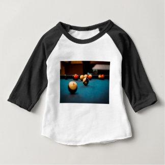T-shirt Pour Bébé Tableau de boule de piscine