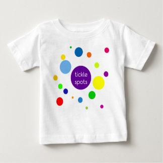 T-shirt Pour Bébé Taches de chatouillement