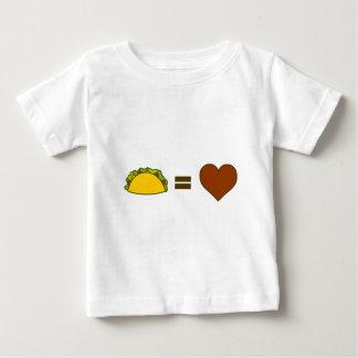 T-shirt Pour Bébé Taco=Love