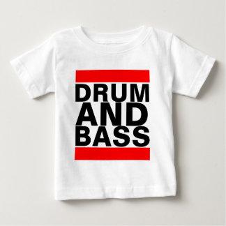 T-shirt Pour Bébé Tambour et basse
