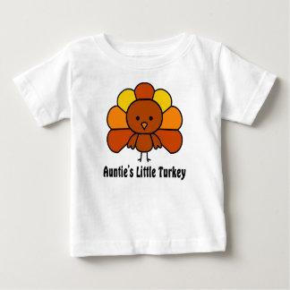 T-shirt Pour Bébé Tantes la peu de Turquie
