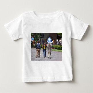 T-shirt Pour Bébé Tapceptional - course de chevaux de fer
