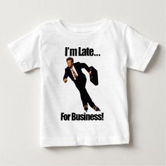 T-shirt Pour Bébé Tard pour des affaires faites du roller le