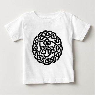 T-shirt Pour Bébé Tatouage celtique Lineart de noeud
