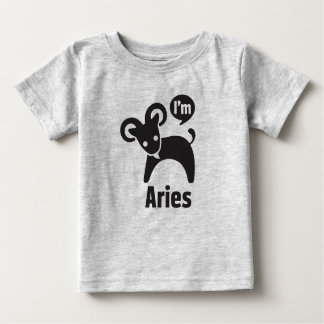 T-shirt Pour Bébé Tee - shirt-Bélier de bébé de zodiaque