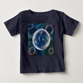 T-shirt Pour Bébé Tee - shirt bleu de bébé et d'enfant en bas âge de