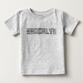 T-shirt Pour Bébé Tee - shirt de typographie de Brooklyn NY, BK, New