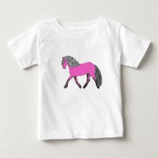 T-shirt Pour Bébé Tee - shirt rose de poney