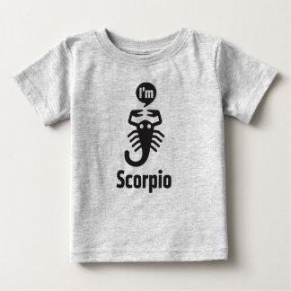 T-shirt Pour Bébé Tee - shirt-Scorpion de bébé de zodiaque