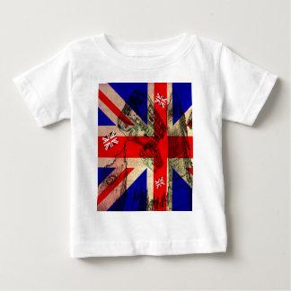 T-shirt Pour Bébé tee-shirt UK FLAG