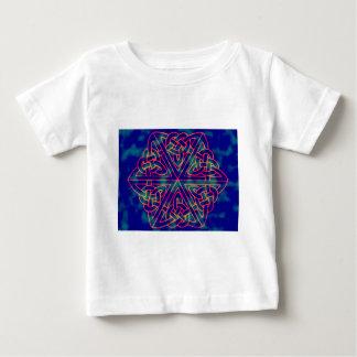 T-shirt Pour Bébé Teignez en nouant le noeud celtique
