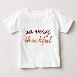 T-shirt Pour Bébé Tellement très reconnaissant - chemise de vacances