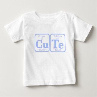 T-shirt Pour Bébé Tellurium de cuivre (CuTe) -- Bleu
