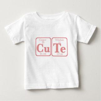 T-shirt Pour Bébé Tellurium de cuivre (CuTe) -- Rose