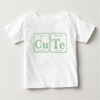 T-shirt Pour Bébé Tellurium de cuivre (CuTe) -- Vert