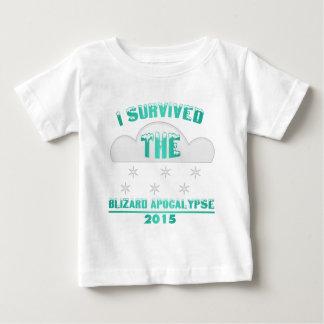 T-shirt Pour Bébé Tempête de neige 2015