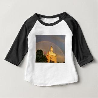 T-shirt Pour Bébé Temple de Nauvoo l'Illinois embrassé par un