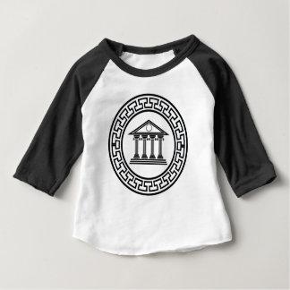 T-shirt Pour Bébé Temple grec